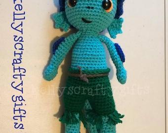 Luca Crochet Inspired Amigurumi Doll