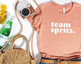 Spritz Shirt (Aperol® Spritz Shirt - Team Spritz Shirt - Italian Cocktail shirt - Cute Italian Shirt - Brunch Shirt)