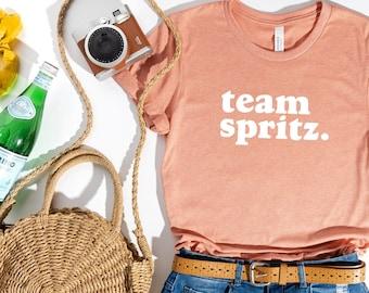 Team Spritz Shirt  (Italian Cocktail shirt - Cute Italian Shirt - Brunch Shirt -Aperol® Spritz Shirt)