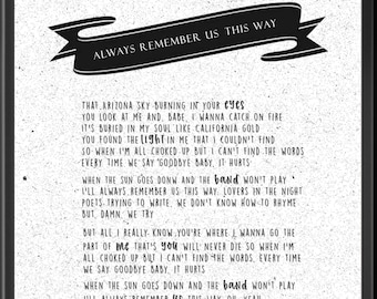Always song | Etsy