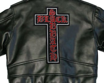 cost to sew patches on leather vest