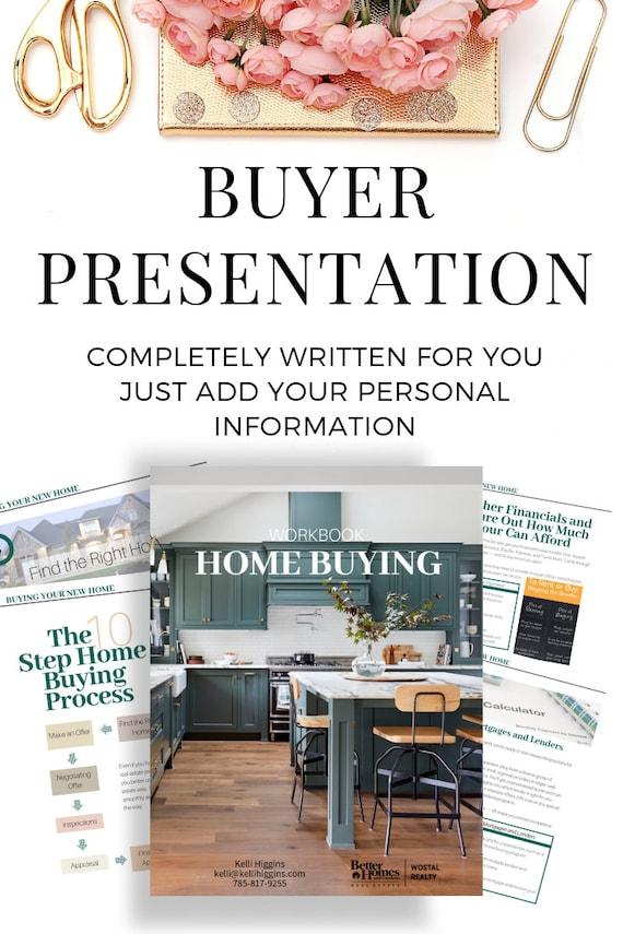 Modern Buyer Presentation Real Estate Opt In Guide Templates Canva Canva Real Estate Marketing Lead Magnet Workbook Real Estate