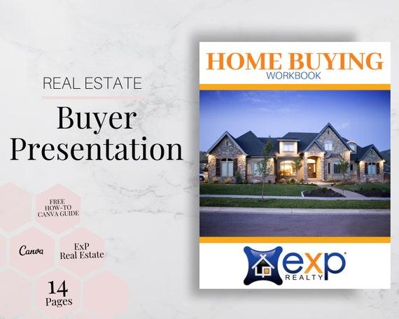Buyer Presentation Exp Real Estate Buyer Template Templates Canva Canva Real Estate Marketing Guide Realtor Marketing Real Estate
