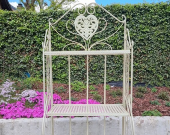 Wrought iron garden rack - Flower rack - garden and patio furniture and decoration