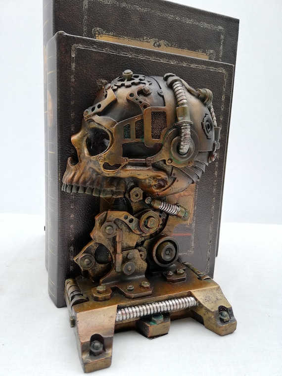 Steampunk Crane Serre Livres Fantasy
