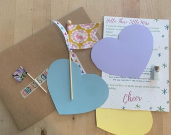 Cheer * Fairy Flags One Time Magical Mail Delivery