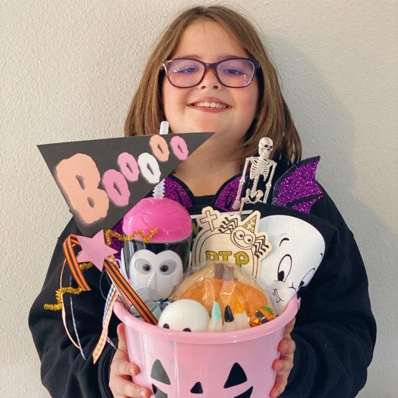 Spooky Fun Halloween Printable Pennant Flags - Digital File - Happy Halloween Kids