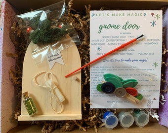 DIY Gnome Door * Make Magic * Craft Kit
