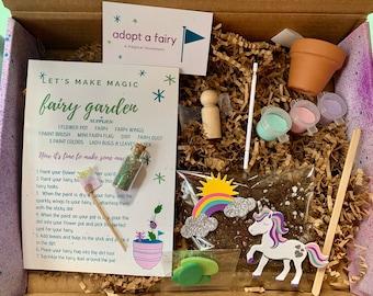 DIY Mini Fairy Garden * Make Magic * Craft Kit