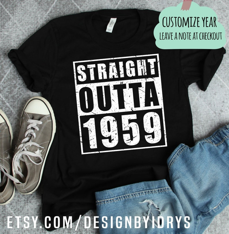 Funny 60th Birthday Shirt Gift Vintage 1959