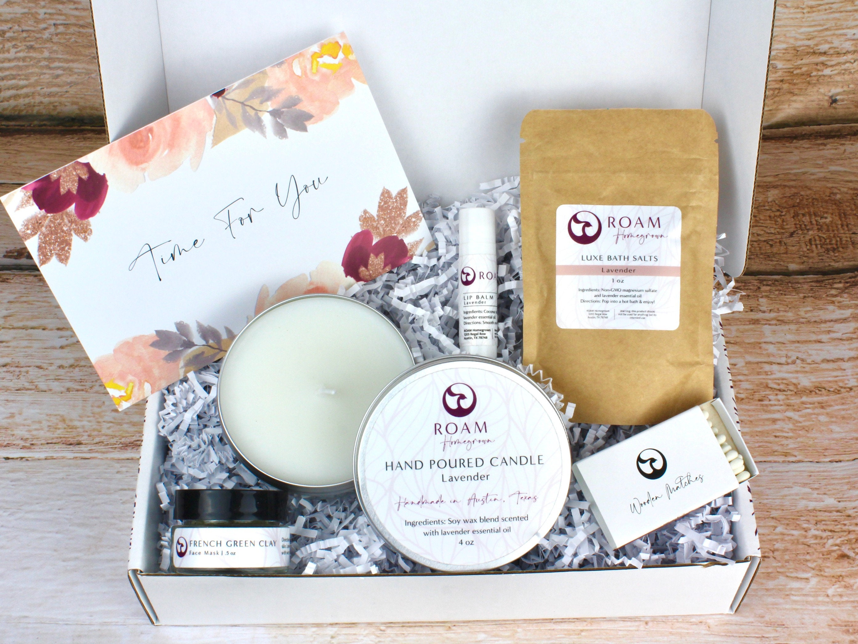 Self Care Box Gift - Set it Down. Picture by Etsy
