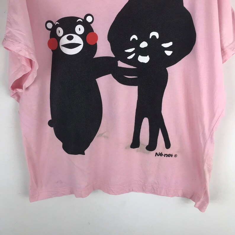 Ne-Net Shirt bat wing cat and bear