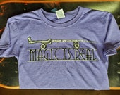 Magic Is Real Harry Potter Skateboard Youth Shirt