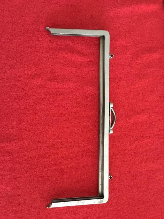 Purse frame bag frame handbag frame sewing frame vintage frame pouch frame clutch frame gold metal