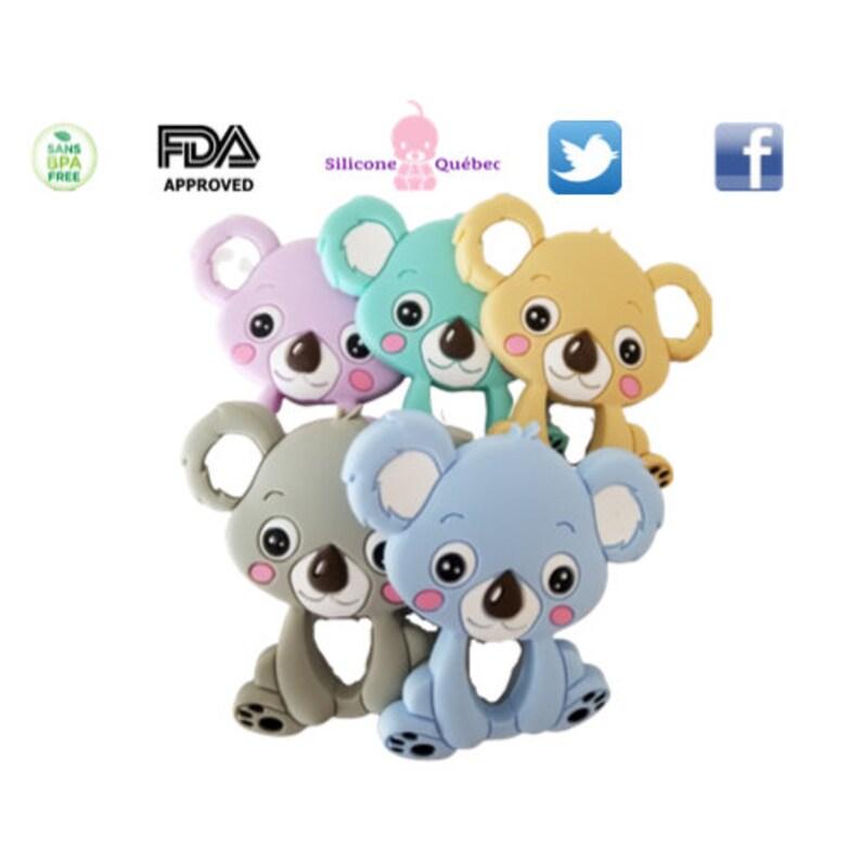 teething toy Koala teether silicone image 0