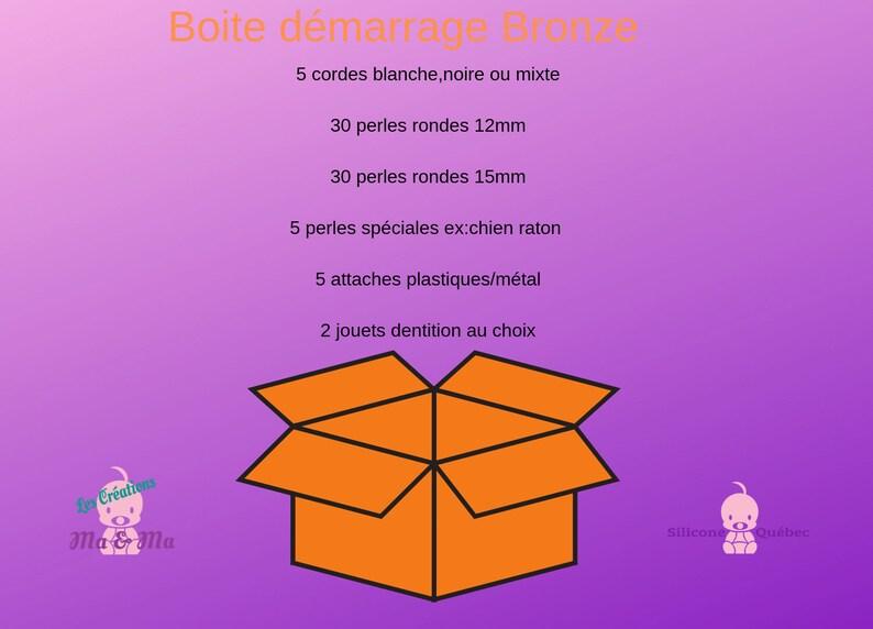 startup kit bronzepacifier clipbaby shower gift image 0