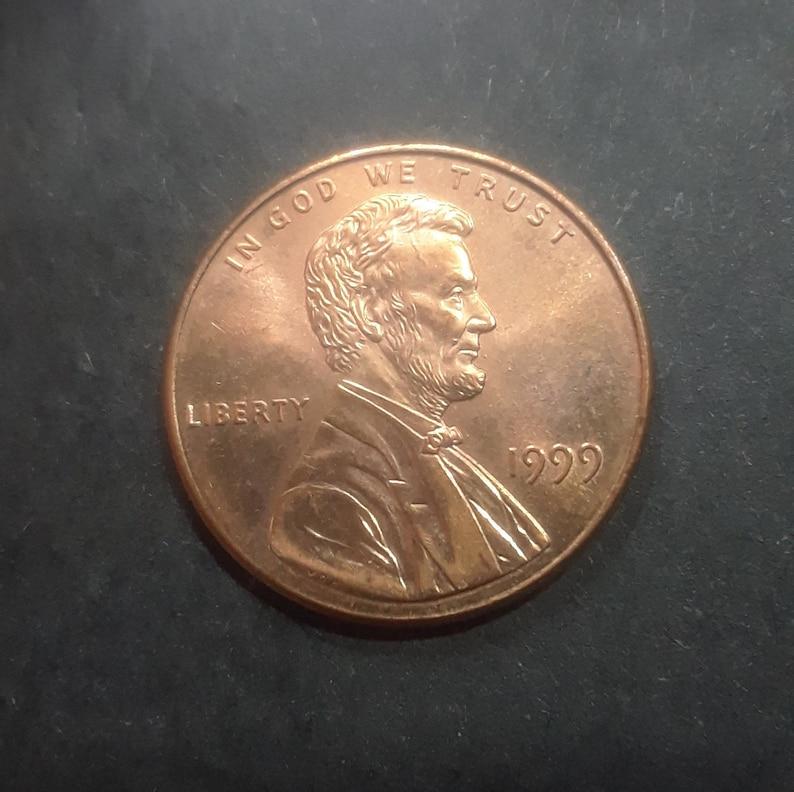1990 D Penny Double Die