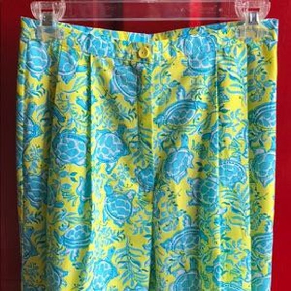 Vintage 1960's Lilly Pulitzer Clamdiggers Size 6-8 - image 1
