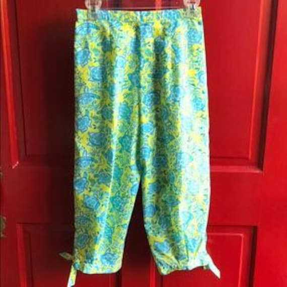Vintage 1960's Lilly Pulitzer Clamdiggers Size 6-8 - image 6