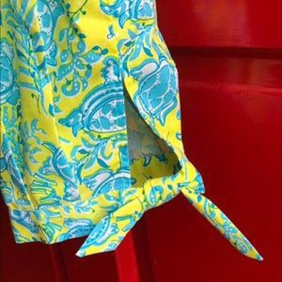 Vintage 1960's Lilly Pulitzer Clamdiggers Size 6-8 - image 4