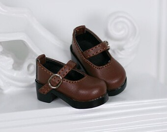badff57ff5ab4 Brown mary janes | Etsy