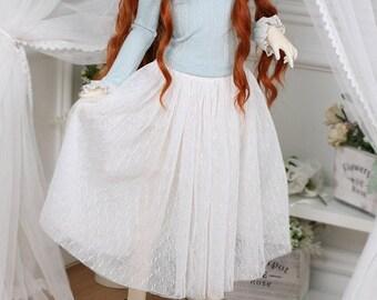 BJD SD SD9 SD13 Clothes white mesh skirt For SD Dollfie dream Smart doll 60cm 1/3 doll