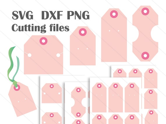 Earring Card Display Svg Template Cutting Files For Jewelry Etsy