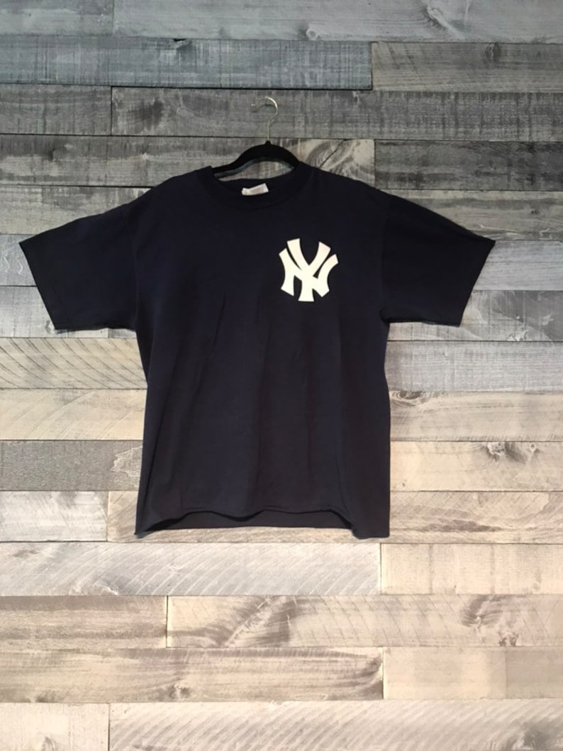 check out 445c8 43027 Vintage NY Yankees Bernie Williams Jersey T-Shirt