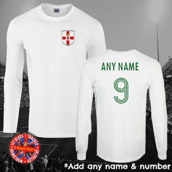 NORTHERN IRELAND Football Personalised Boy//Girl T-Shirt