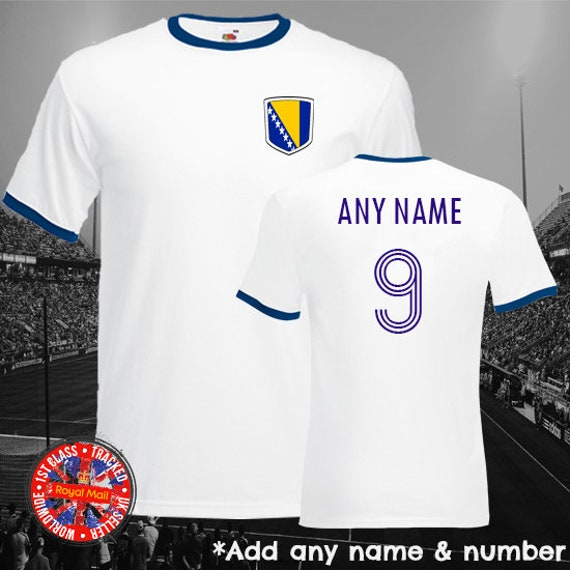 inkl Albanien WM 2018 KINDER T-Shirt Trikot Look Fußball Druck  Name und Nr