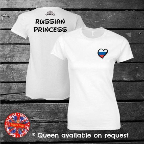 Russia Russian Princess T-shirt Kids Ladies