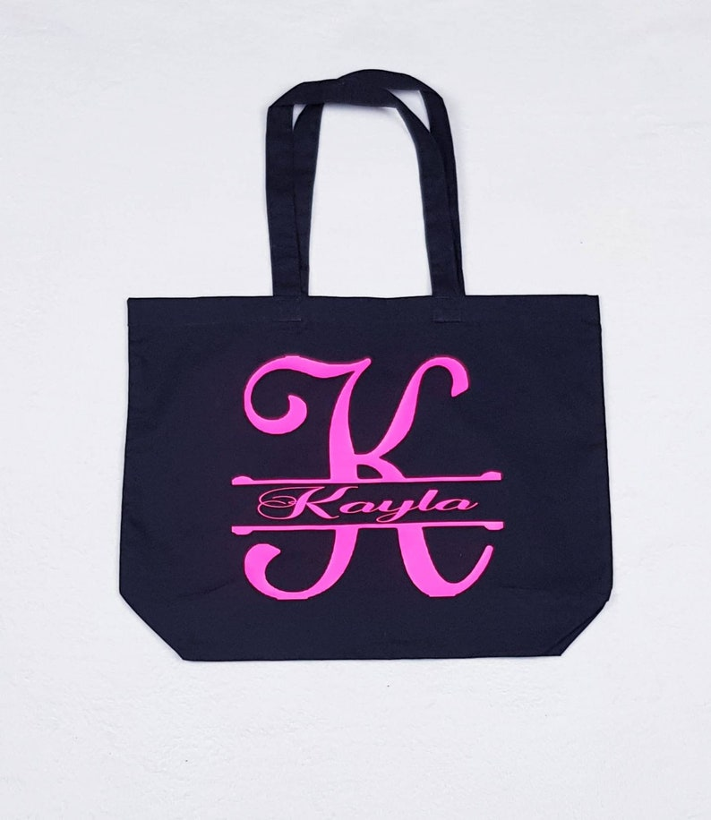Personalised Initial Tote Bag,Personalised Initial Bridesmaid Bag,Bridesmaid Tote Bag,Bridesmaid Proposal,Personalised Bridesmaid Gift