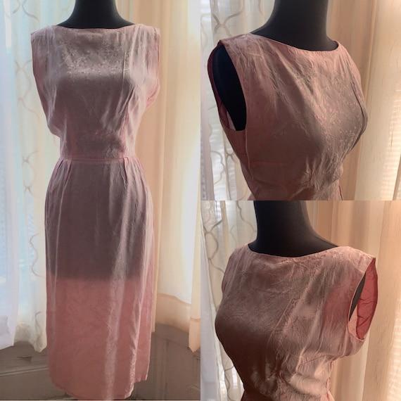 Pastel Pink Wiggle Dress