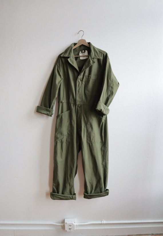 Olive Green / Army Green Coveralls