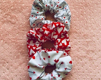 Valentines Day Scrunchie 3 pack c17bb8728a4