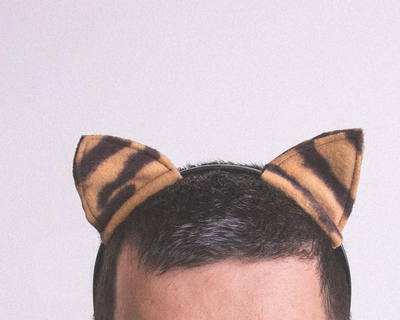 Tiger Ears  Tiger Headband  Tiger Costume  Tiger Cosplay  Tigger  Gift under 10