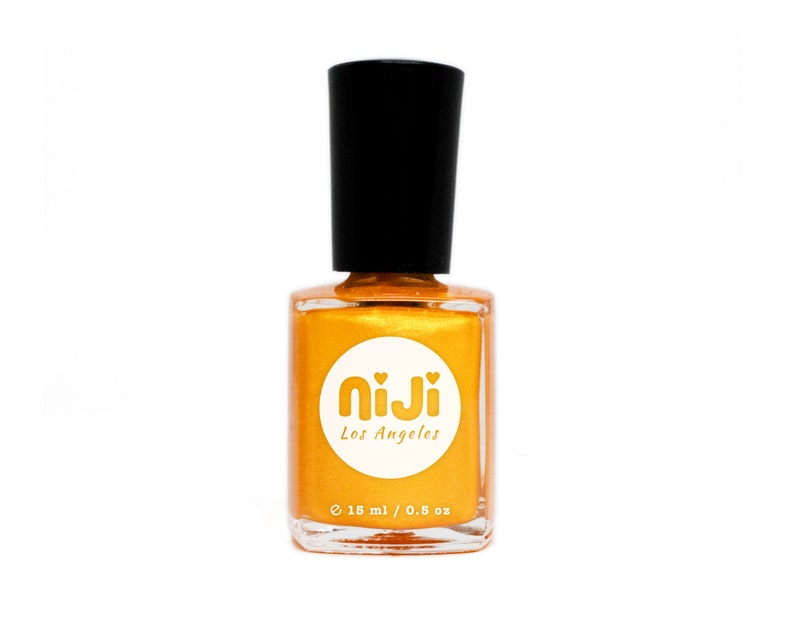 Sunkissed  High Gloss Tangerine Orange With Bright Gold image 0