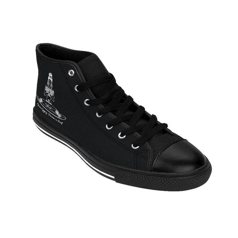 Ocean Gypsy Boho Sneakers high-top in nero woP2bITT