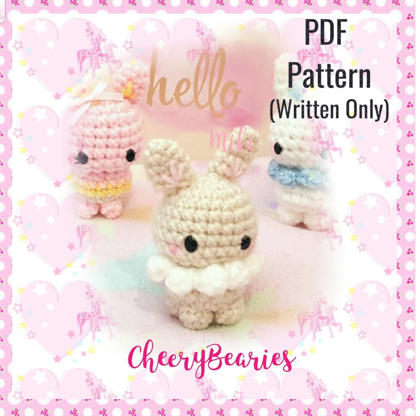 Amigurumi PATTERN Pokemon Eevee Crochet for best friend gift. | Etsy | 1424x1440