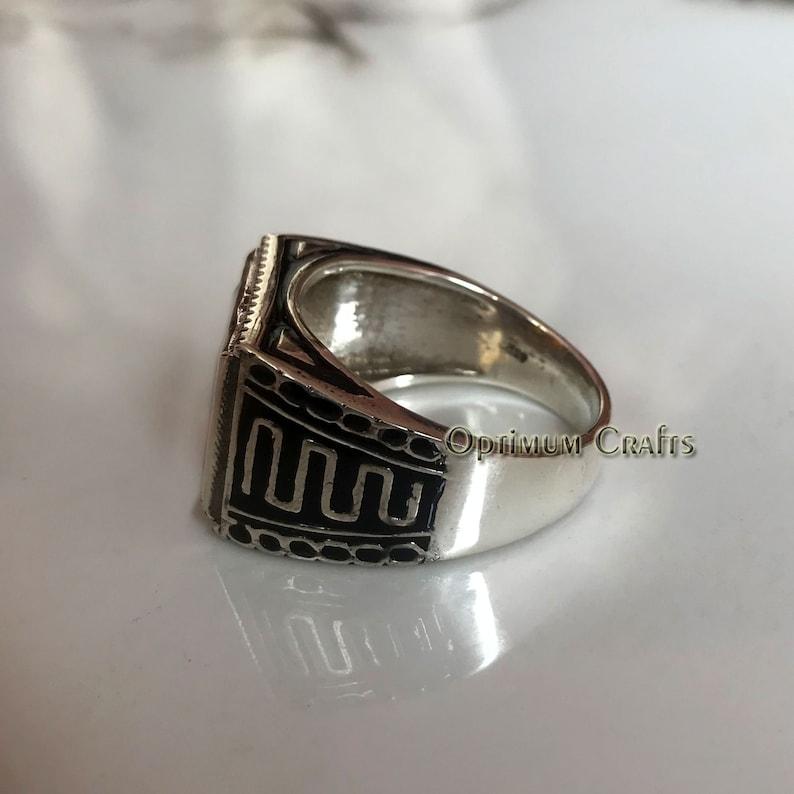 Natural Amethyst 925 Silver Ring February Birthstone,Faceted Amethyst,Purple Amethyst,Amethyst Jewelry Mens Amethyst Ring Handmade Ring