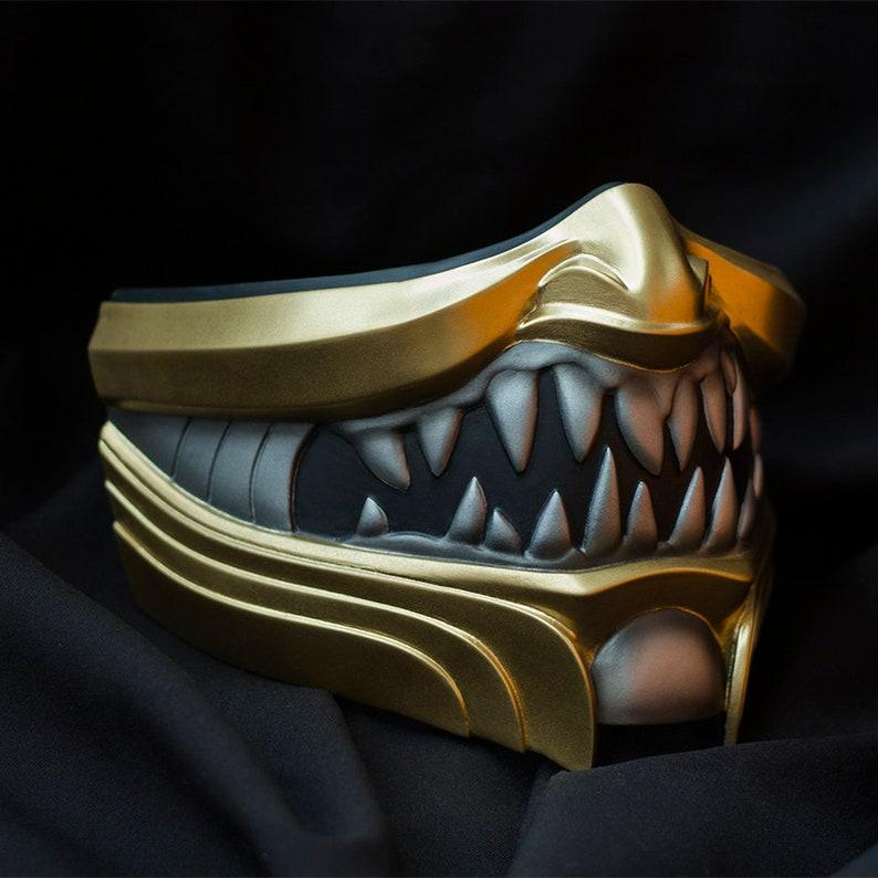 Scorpion mask inspired by Mortal Kombat 11 video game   Etsy