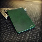 "Custom Golf Scorecard Holder and Yardage Book Cover | Full-Grain Buttero Leather | Handmade in the U.S.A. | The ""Augusta"""