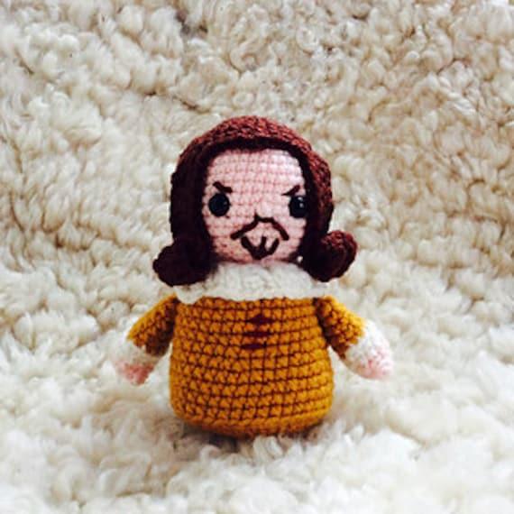 William Shakespeare Crochet Pattern PDF