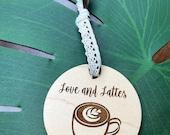Ornament-Coffee Shop-Kaffeeklatsch personalized