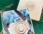Ornament for Photographers Customized Personalized Camera Lasercut Wood christmas Tree Keepsake