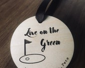 Personalizable Golfers Ornament- golf club-golf team