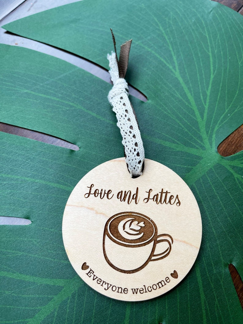 Ornament-Coffee Shop-Kaffeeklatsch personalized image 0
