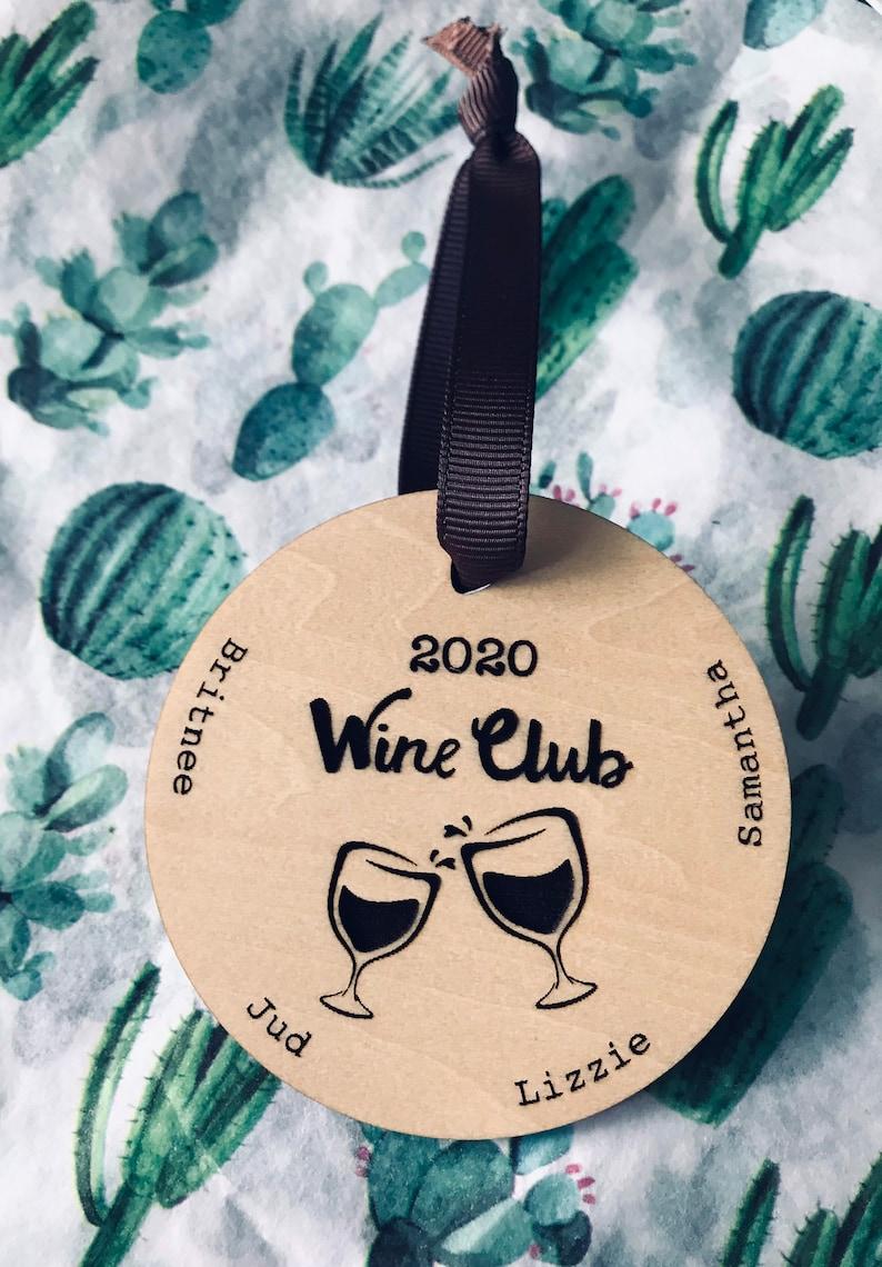 Ornament Wine Club Personalized image 0