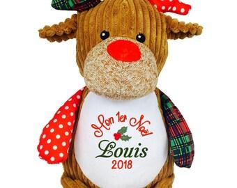 Teddy Weihnachten.Stofftiere Frohe Weihnachten Elch Weihnachtselch Stofftier