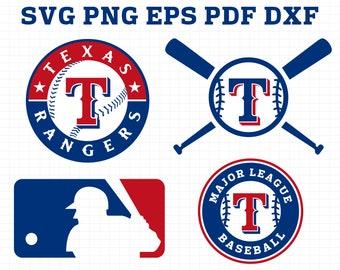 Mlb svg file etsy - Texas rangers logo images ...